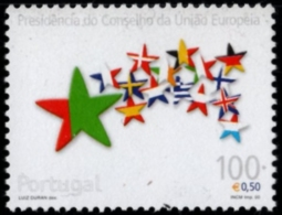 Portugal 2000 Presidency Of The EU 1 Value MNH European Union - Europa-CEPT