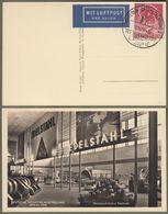 "Berlin: Sonderkarte, Berlin Michel-Nr. 71 SST ERP-Hilfe: "" Deutsche Industrie-Ausstellung, Berlin 1950 ""     X - Usati"