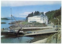 ISLAND FERRY : SCOTLAND - LOCHALSH HOTEL, KYLE OF LOCHALSH (10 X 15cms Approx.) - Ferries