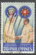 1960 USA President Eisenhower Visit, 20s, Used - Philippines