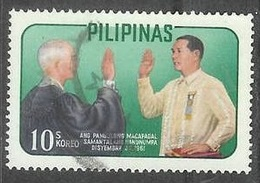 1962 President Macapagal Oath, 10s, Used - Philippines