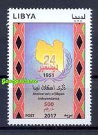 2017- Libya- Libye- Anniversary Of Libyan Independance- Complete Set 1v.MNH** - Libye