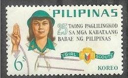 1966 Girl Scouts, 6s, Used - Philippines
