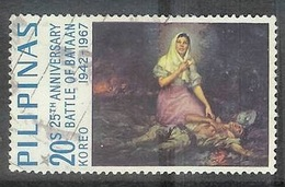1967 WWII Battle Of Bataan, 20s, Used - Philippines