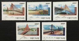 Viet Nam Vietnam MNH Perf Stamps Issued On 1st Of July 2019 : Bridge / Bridges Of Viet Nam - Vietnam