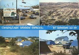 12018929 Saint-Germain-sur-Ay Camping Aux Grands Espaces Saint-Germain-sur-Ay - France