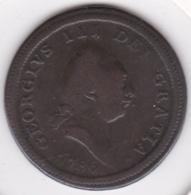 Isle Of Man 1/2  Penny 1786 George III , En Cuivre. KM# 8 - Monedas Regionales