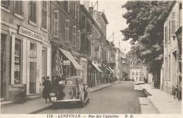 LUNEVILLE RUE DES CAPUCINS - Luneville