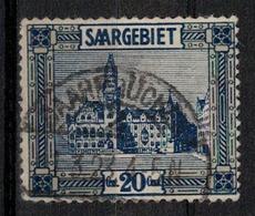 SARRE     N° YVERT  :  89    OBLITERE     ( OB   03/62  ) - 1920-35 Saargebiet – Abstimmungsgebiet