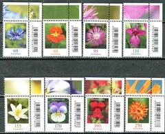 BRD - 3468 / 3475 ECKEN REO - ** Postfrisch (F) - Blumen, Ausgabe 01.07.2019 - Ungebraucht