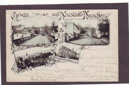 Alte AK NEUSTADTL Neuschloss ARNAU Trautenau Wildschütz Hohenelbe - Sudeten