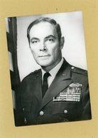 Photo Originale . Le Général  ALEXANDER HAIG  Secretaire De La Maison Blanche Sous  RICHARD NIXON - Guerre, Militaire