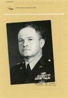Photo Originale . Le Général  HARVEY HERMAN FISCHER  En 1956 - Guerre, Militaire