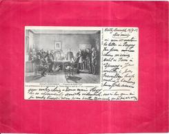 GUERRE 1870 - CPA DOS SIMPLE - SEDAN-DONCHERY  - Château De Belle Vue - BES1/ROY  - - Other Wars