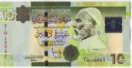 Libya 10 Dinars (P73) 2009 Sign 10 -UNC- - Libya
