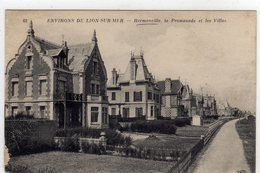 Hermanville La Promenade Et Les Villas - Frankreich