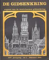 1982/1 DE WESTVLAAMSE GIDSENKRING POPERINGE MESEN TIJDENS W.O. 1914-1918 HARINGE ORGELCULTUUR IN VLAANDEREN - Geschichte