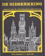 1982/2 DE WESTVLAAMSE GIDSENKRING ARDOOIE MOLENS WERVICKHOVE RUMBEKE DE SINT-MICHIELSKERK TE ROESELARE IN RUBENS' TIJD - Histoire