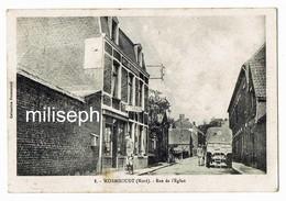 WORMHOUDT - Rue De L'Eglise - 1914 -  ( Militaires ) (Café - Tabac )   (4580) - Wormhout