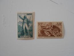 FRANCE YT 314/315 ROUGET DE LISLE** - Frankreich