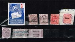 Lot Grande-Bretagne Anciens Timbres Fiscaux à Identifier - Stamps