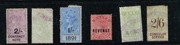 Lot Grande-Bretagne Timbres Fiscaux à Identifier - Stamps