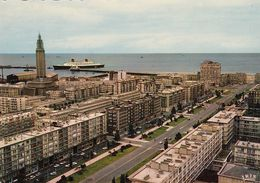 Cp , 76 , LE HAVRE , L'Avenue Foch Et L'entrée Du Port - Port