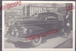 Voiture Ancienne Graham Paige Cannes 1950 Beau Format - Automobili