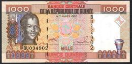 Guinea 1000 Francs 2006 UNC - Guinea