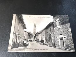 SAINT MARTIN DU MONT L'Eglise - 1935 Timbrée - France