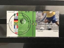 Brazilië / Brazil - Complete Set WK Voetbal 2002 - Gebruikt