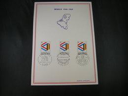 """BELG.1969 1500 FDC Filatelia Card :  """" BENELUX 1944-1969   """" - FDC"""