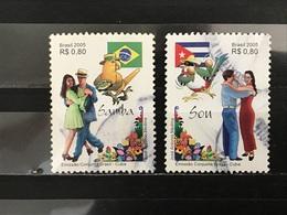 Brazilië / Brazil - Complete Set Dansen 2005 - Gebruikt