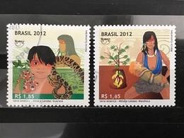 Brazilië / Brazil - Complete Set Mythes En Legendes 2012 - Brazilië