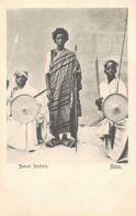 Yemen - ADEN - Somali Soldiers With Shields And Spears - Publ. J. Benghiat. - Yemen