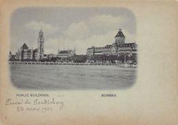 India - MUMBAI Bombay - Public Gardens - Early Postcard, Small Size. - India