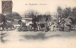 India - PONDICHERRY - Vehicles - Publ. Vincent 67. - India