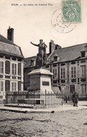 Ham - La Statue Du Général Foy - Ham