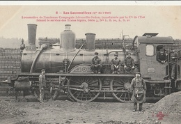 Les LOCOMOTIVES - Cie De L'Est :  Locomotive De L'ancienne Compagnie Lérouville-Sedan - Trains