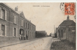 CHAULNES  La Gendarmerie - Chaulnes