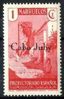 Cabo Juby Nº 61 Con Charnela. - Kaap Juby