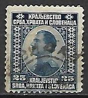 YOUGOSLAVIE  -   1921 .  Y&T N° 134 Oblitéré.   Alexandre  1er - Oblitérés
