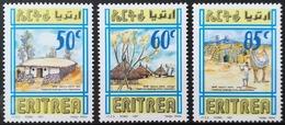 1997 ERITREA MNH Traditional Dwellings Of Eritrea - Eritrea
