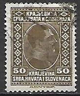 YOUGOSLAVIE  -   1926 .  Y&T N° 171 Oblitéré.   Alexandre  1er - Oblitérés