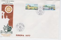 Malta 1977 FDC Europa CEPT   (LAR6-42S) - Europa-CEPT