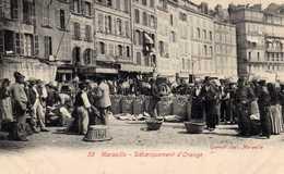 Débarquement D'oranges. - Vieux Port, Saint Victor, Le Panier