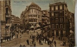 Porto (Portugal) Ruas Bandera E 31 De Janeiro 19?? - Porto
