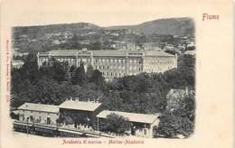 CROATIA - Rijeka (Fiume) - Academia Di Marina. - Croazia