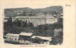 CROATIA - Rijeka (Fiume) - Academia Di Marina. - Croatia