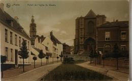 Mons // Potail De Eglise St. Waudru (color) 1907 - Mons
